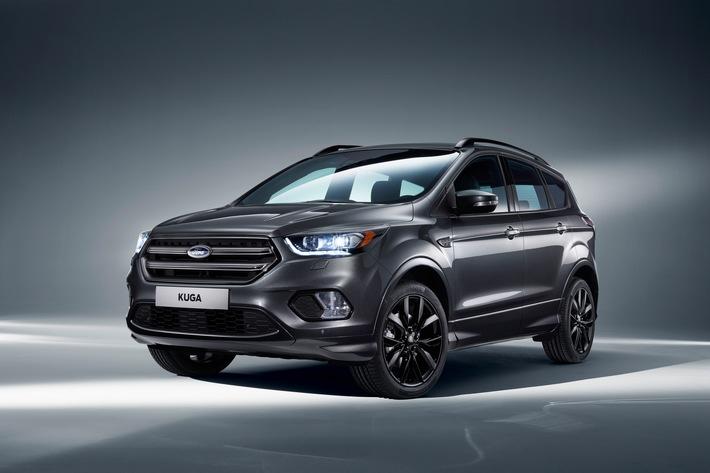 Der neue Ford Kuga: das sportliche und effiziente SUV mit fortschrittlichen Technologien und SYNC 3