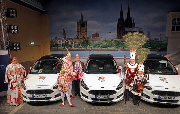 Mit Bi-Turbo und 210 PS durch den Karneval: Neuer S-MAX feiert bei Ford-Wagenübergabe seine Karnevals-Premiere
