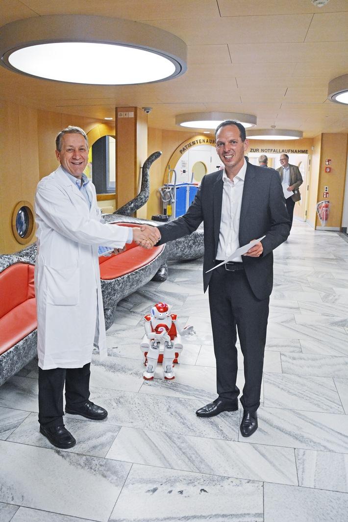 Helsana regala due Avatar all'ospedale pediatrico di Zurigo