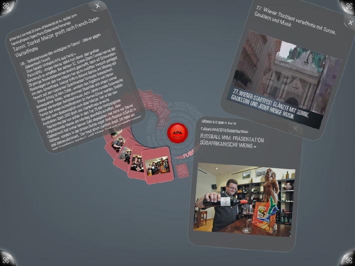 APA präsentiert erste Nachrichten-Anwendung für TouchTable Surface - BILDER/VIDEO