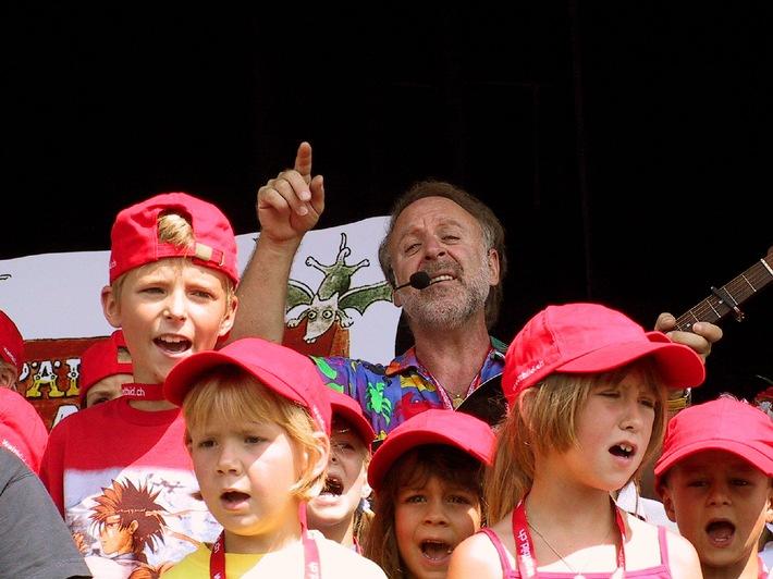 Weltbild Familientag mit Peter Reber ein voller Erfolg: Über  4'000 Personen auf dem Gurten