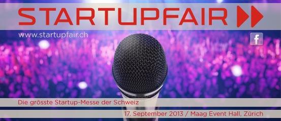 Startupfair - die erste Schweizer Messe für Jungunternehmen (ANHANG)