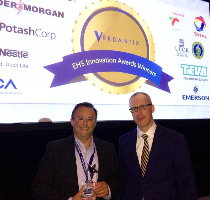 iPoint-Kunde Emerson gewinnt EH&S-Innovationspreis / Renommierte Verdantix-Auszeichnung ehrt Materialcompliance-Managementsystem von iPoint