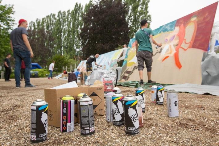 Graffiti Art goes YOU Summer Break:  5. Battle of Schools-Finale