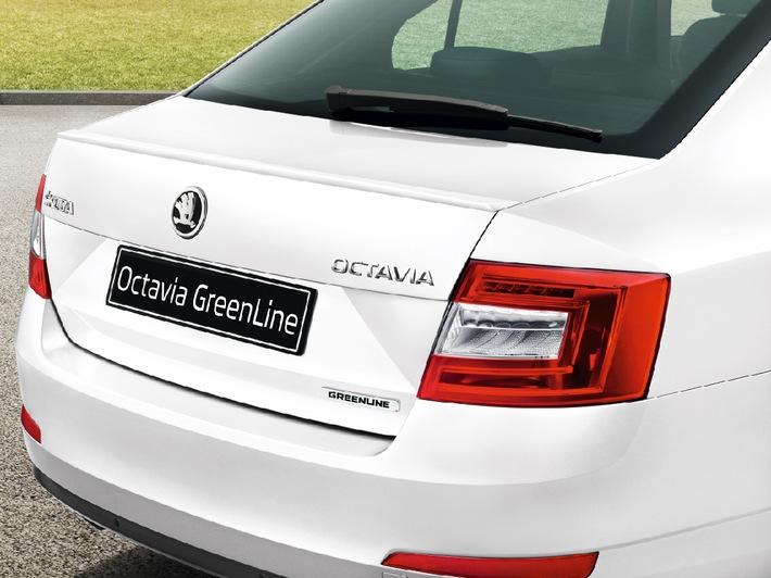 Nur 85 Gramm CO2 pro Kilometer: Neuer SKODA Octavia GreenLine ab sofort bestellbar