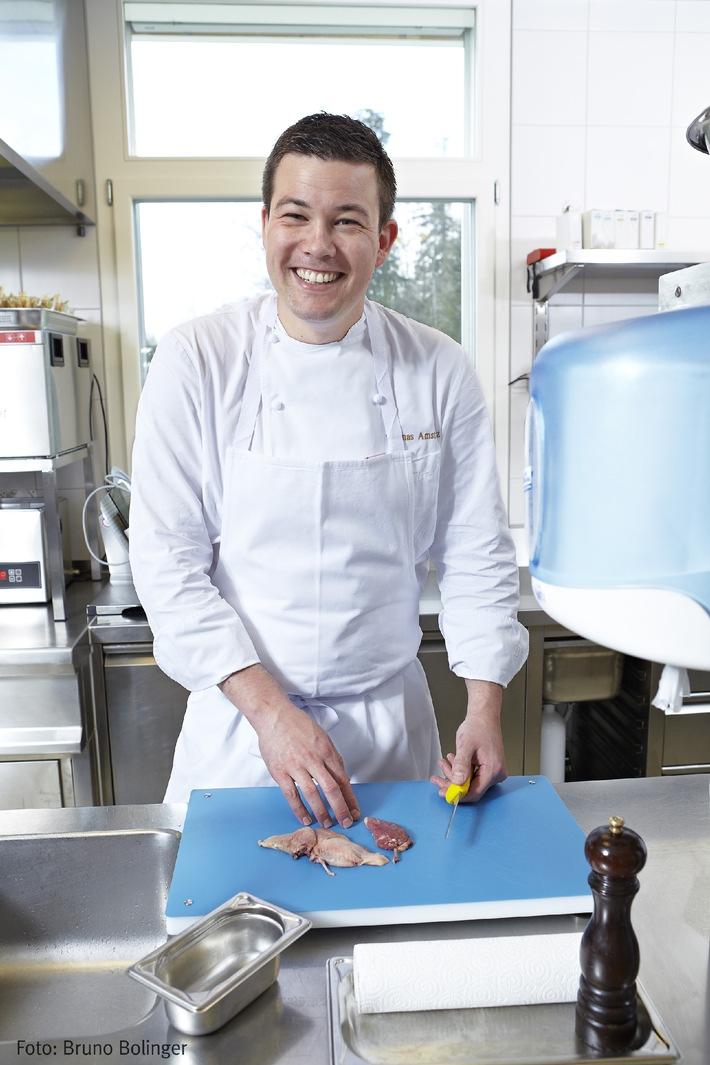 Porteur d'avenir 2012: Maître d'apprentissage de l'année dans la profession de cuisinier élu