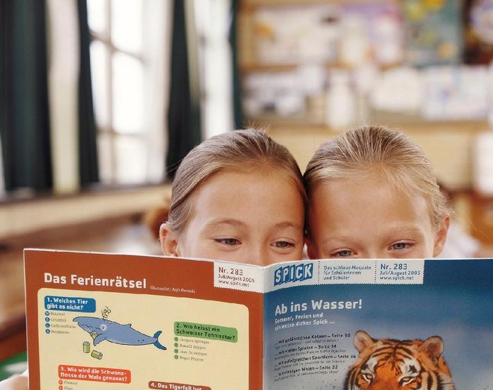 SPICK fördert Lesekompetenz von Schulkindern