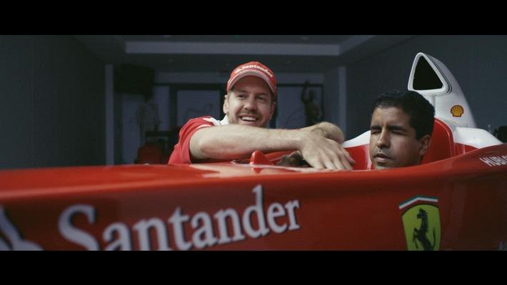 """Großer Preis von Deutschland: Santander startet Videoreihe """"The Daily Race"""""""