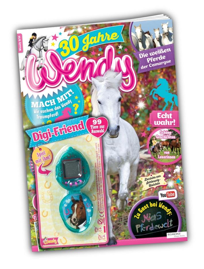 """""""Wendy"""" - das erfolgreichste Pferdemagazin Deutschlands wird 30 Jahre alt!"""