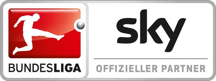 Sky Media startet mit Rekordauslastung in Vermarktung der Bundesliga-Rückrunde