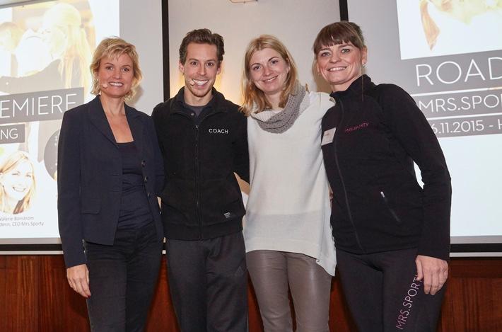 Premiere: Mrs.Sporty Power-Event-Tour startet erfolgreich in Hamburg