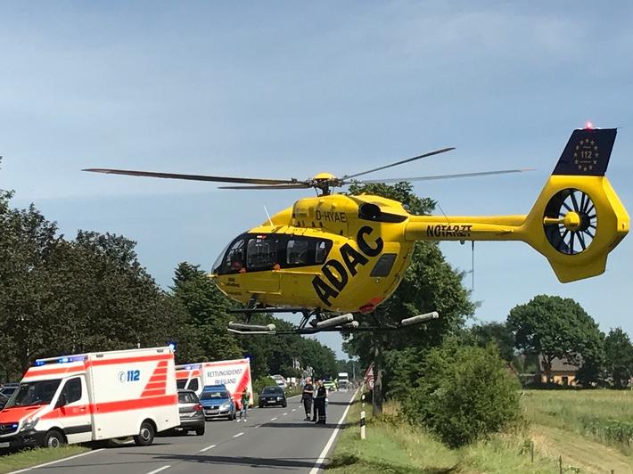 POL-WHV: Nachtrag zum Verkehrsunfall auf der B 437!