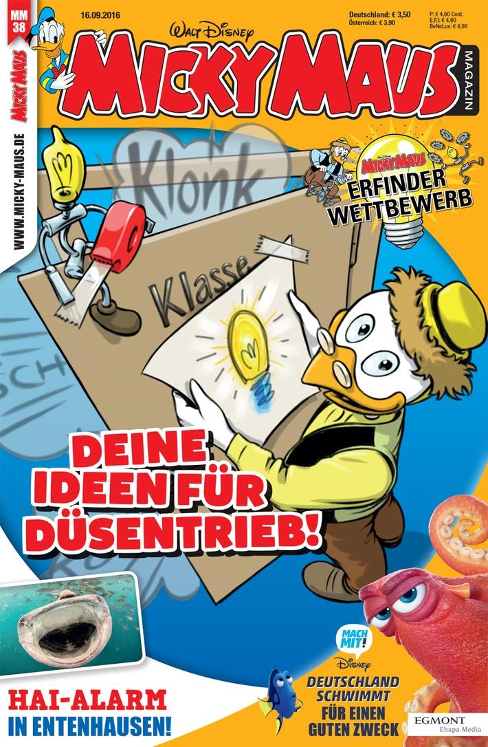 Der Micky Maus Erfinderwettbewerb - Daniel Düsentrieb braucht Eure Ideen!