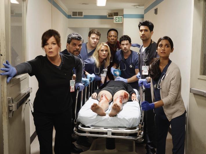 """Drama in der Notaufnahme: Die neue US-Serie """"Code Black"""" sorgt ab 24. Februar für Ausnahmezustand auf ProSieben"""