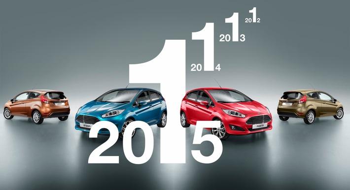 Ford Fiesta ist erneut Europas meistverkaufter Kleinwagen