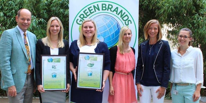 ROSSMANN erhält erneute GREEN BRANDS Germany Auszeichnung für die Eigenmarken Alterra und enerBIO