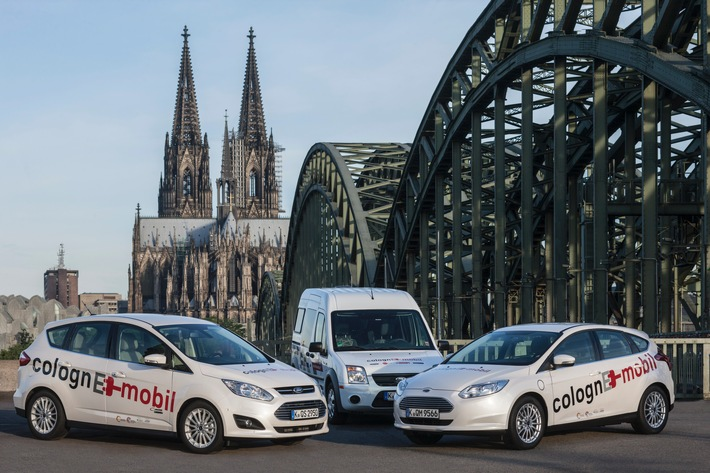 Kölner Elektromobilitäts-Modellprojekt colognE-mobil zieht positive Bilanz: mehr als 200 Ladepunkte und über 700.000 Kilometer