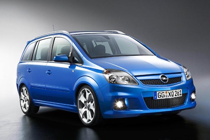Weltpremiere auf dem 75. Automobilsalon in Genf - Der neue Zafira OPC: Exklusiver Sportvan mit 240 Turbo-PS