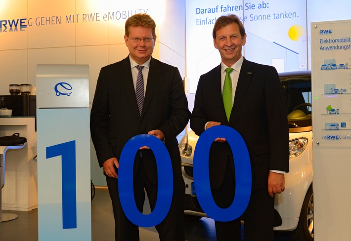 Elektroautos: RWE begrüßt die EWR AG als 100. Energiedienstleister im Ladenetzwerk
