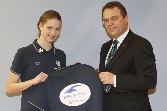 Nachwuchsförderung im Sport: Innenminister Friedrich wird Schirmherr des DVAG-Juniorteams