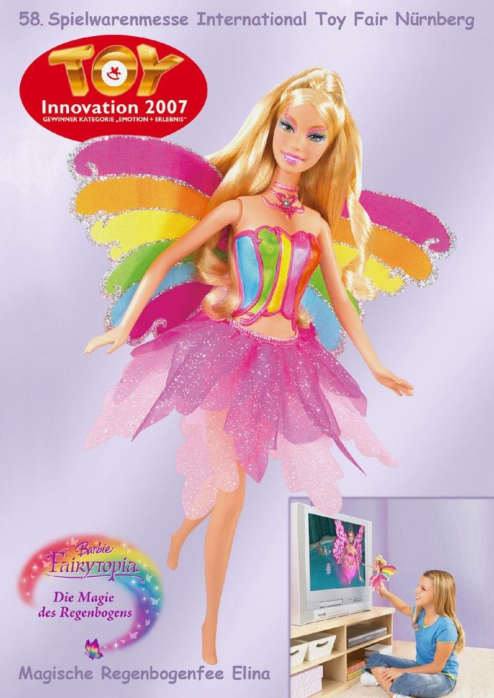 58. Int. Spielwarenmesse Nürnberg - Spielwaren-Oscar für Barbie als TV-Fernbedienung