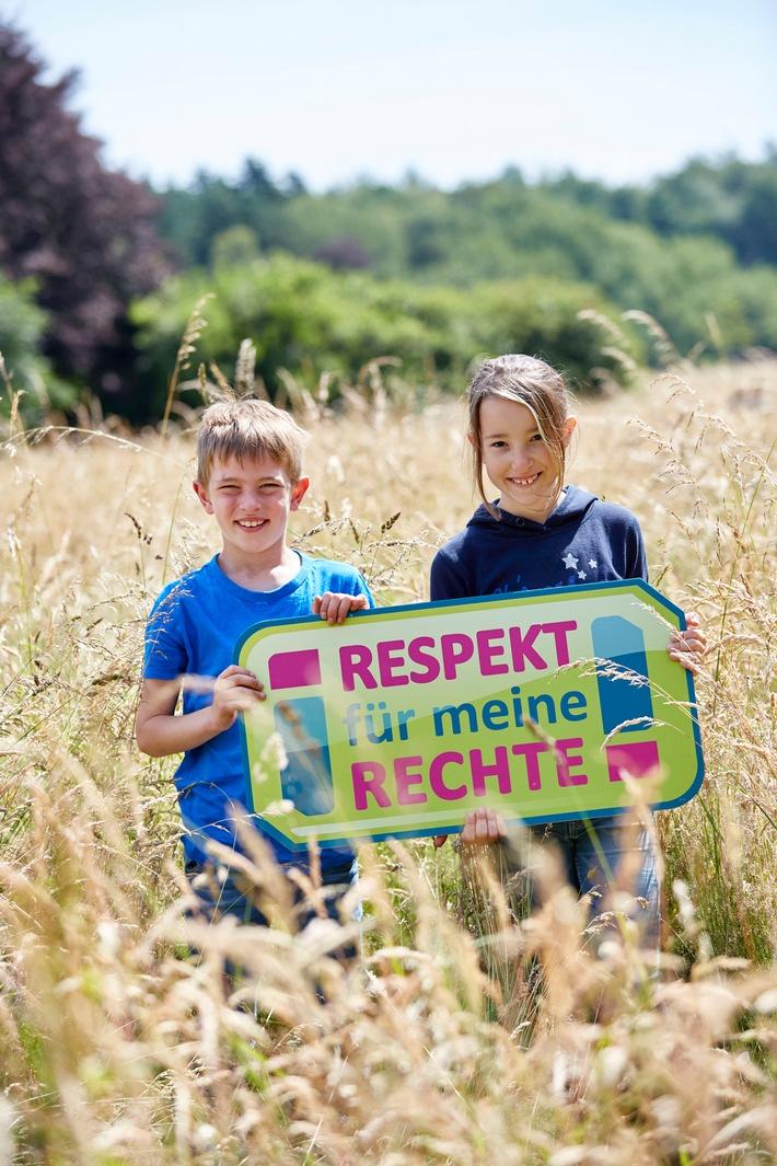 """Alles grün bei KiKA: """"Respekt für meine Rechte! - Umwelt schützen jetzt!"""" / KiKA-Themenschwerpunkt mit vielen Wissensformaten im September"""