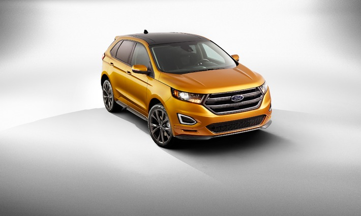 Ford Edge: Das hochmoderne SUV-Topmodell kommt 2015 auf die europäischen Märkte