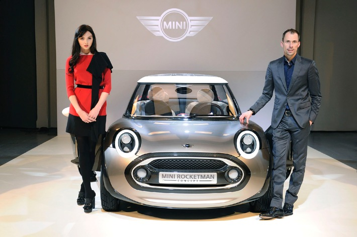 MINI goes Milan. / Exklusive Preview des MINI Rocketman Concept auf der Fashion Week in Mailand 2011.