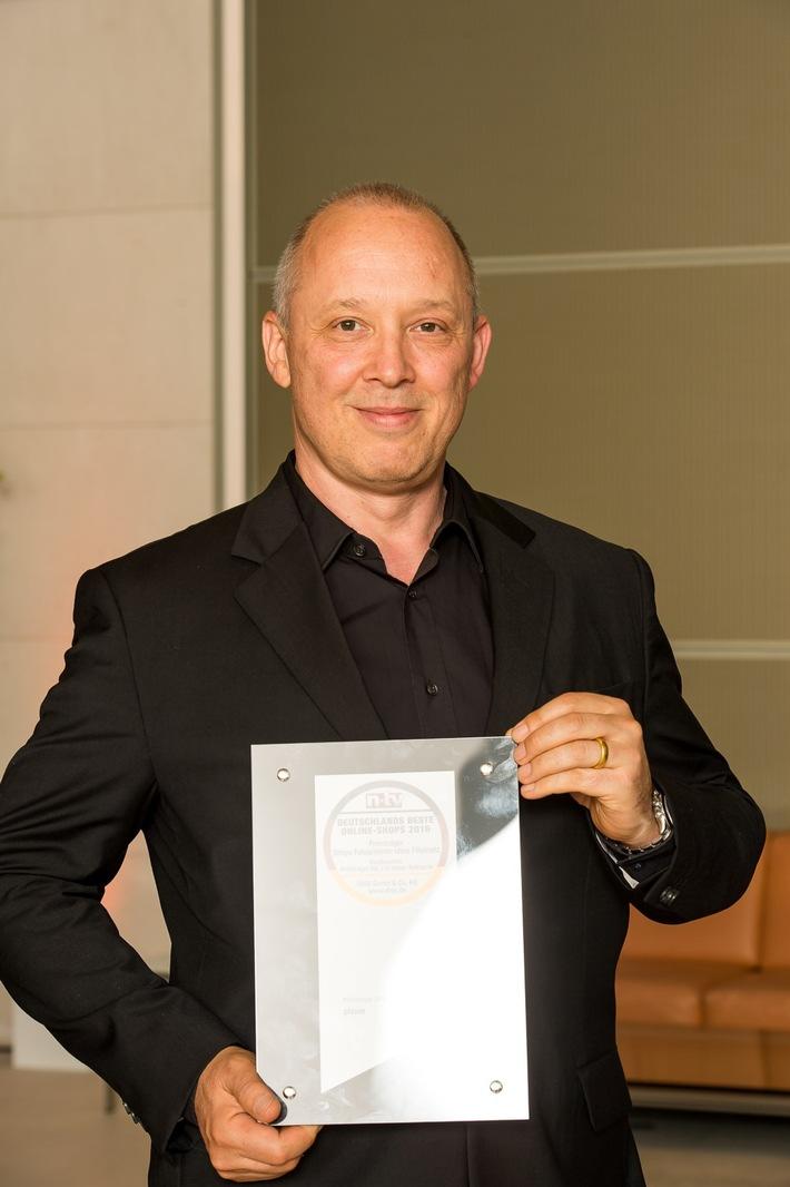Pixum als Deutschlands bester Online-Shop geehrt