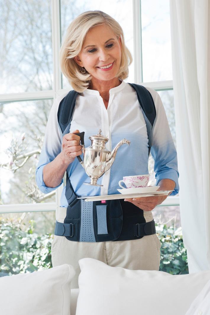 Aktiv mit Osteoporose: Rückenorthesen und Bewegung für mehr Lebensqualität