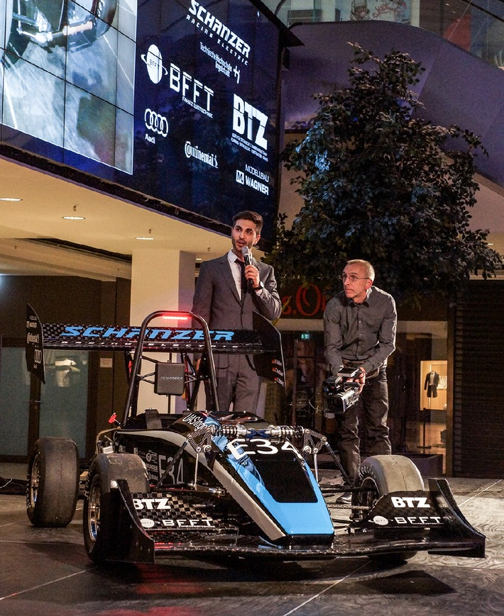 Erfolgreiche Partnerschaft: BFFT und Schanzer Racing Electric feiern Top-Platzierung am Hockenheimring
