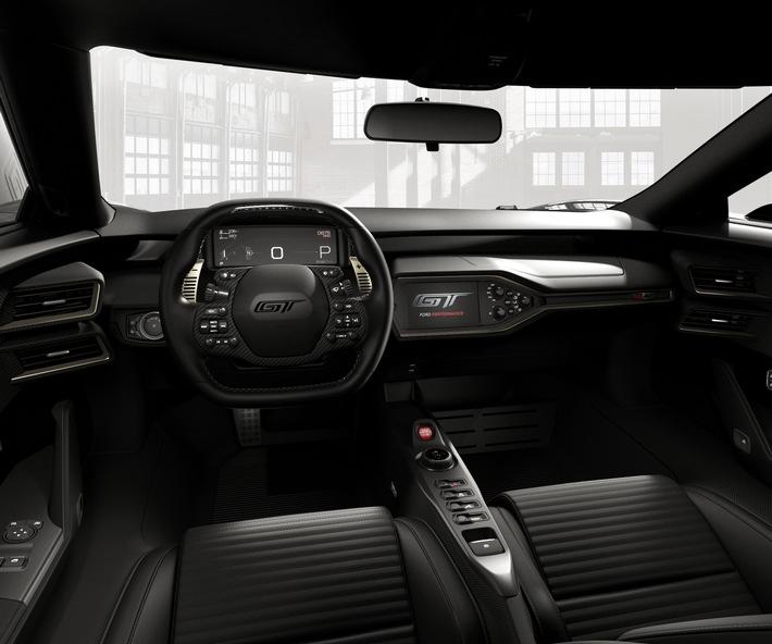 Ford GT: Sondermodell '66 Heritage Edition erinnert an das legendäre Le Mans-Siegerauto von 1966