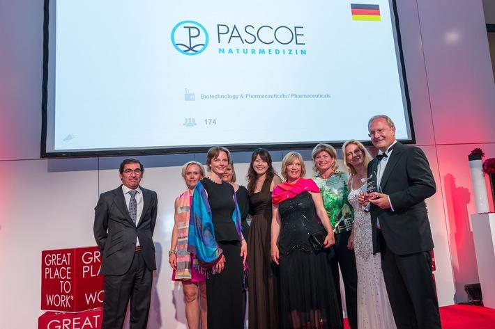 PASCOE einer der besten Arbeitgeber Europas 2015