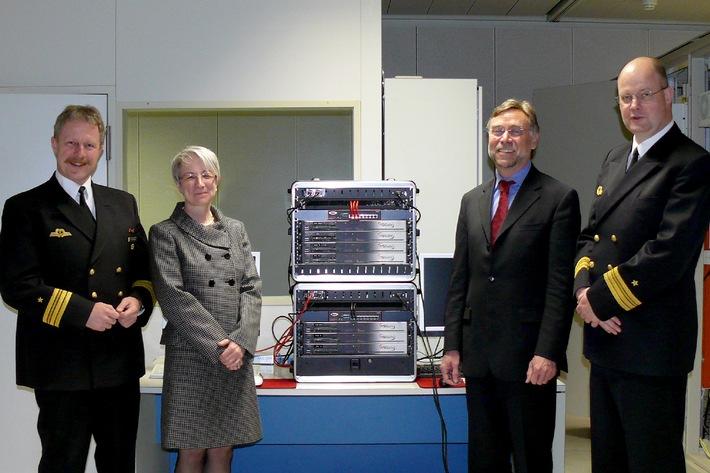 Deutsche Marine:   Noch mehr Datensicherheit an Bord