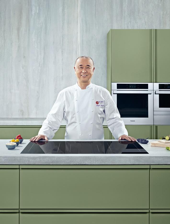 Fokus auf Präzision mit Panasonic Botschafter Nobu / Restauranteröffnung in München, japanische Esskultur und ein Weltstar