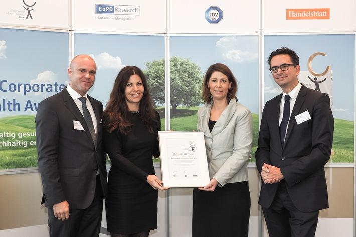 Santander für vorbildliches Gesundheitsmanagement ausgezeichnet