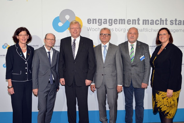 Staatssekretär im Bundesministerium für Familie, Senioren, Frauen und Jugend Dr. Ralf Kleindiek eröffnet 10. Woche des bürgerschaftlichen Engagements