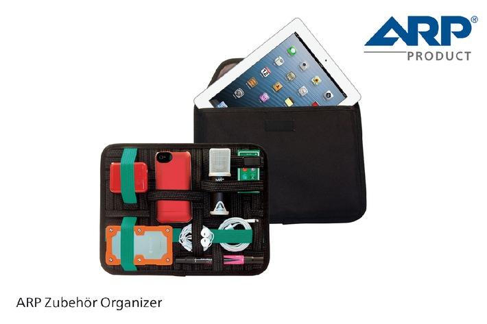Mobile Working: ARP Zubehör Organizer schafft Ordnung unterwegs