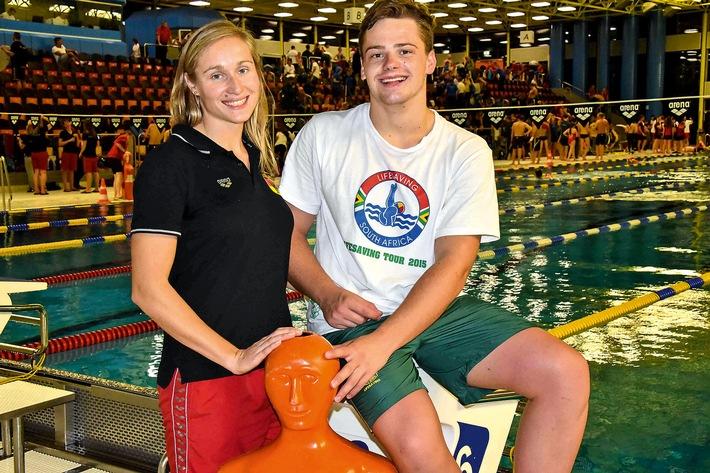Internationaler Deutschlandpokal im Rettungsschwimmen / Weltweite Gemeinschaft der Rettungsschwimmer beim Wettbewerb der DLRG