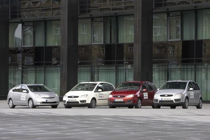 DEKRA und FIRMENAUTO haben Erdgas- und Hybridfahrzeuge getestet / Alternative Antriebskonzepte kommen