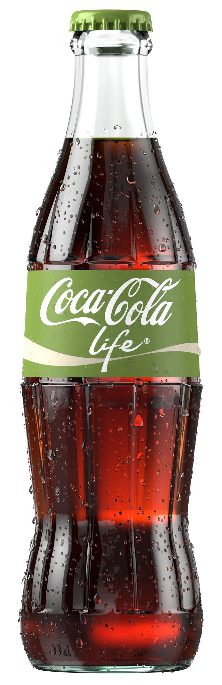Naturellement délicieux: Coca-Cola Life arrive en Suisse