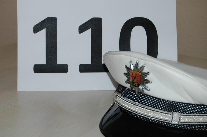 Rund um die Uhr ist die Polizei unter der Notrufnummer 110 erreichbar.