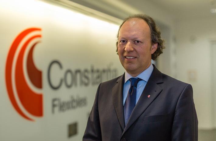 Alexander Baumgartner tritt sein Amt als Vorstandsvorsitzender von Constantia Flexibles an - BILD