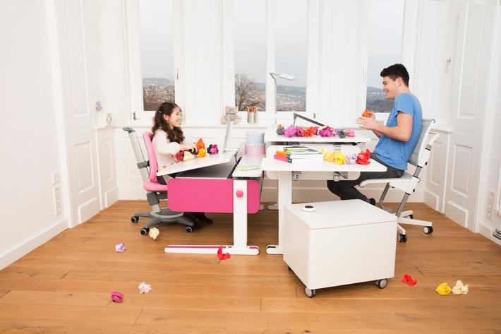 Stillsitzen war gestern: Warum bewegtes Sitzen für den Kinderrücken so wichtig ist