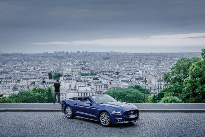 Interaktives 360°-Video: Mit dem Ford Mustang GT durch Paris