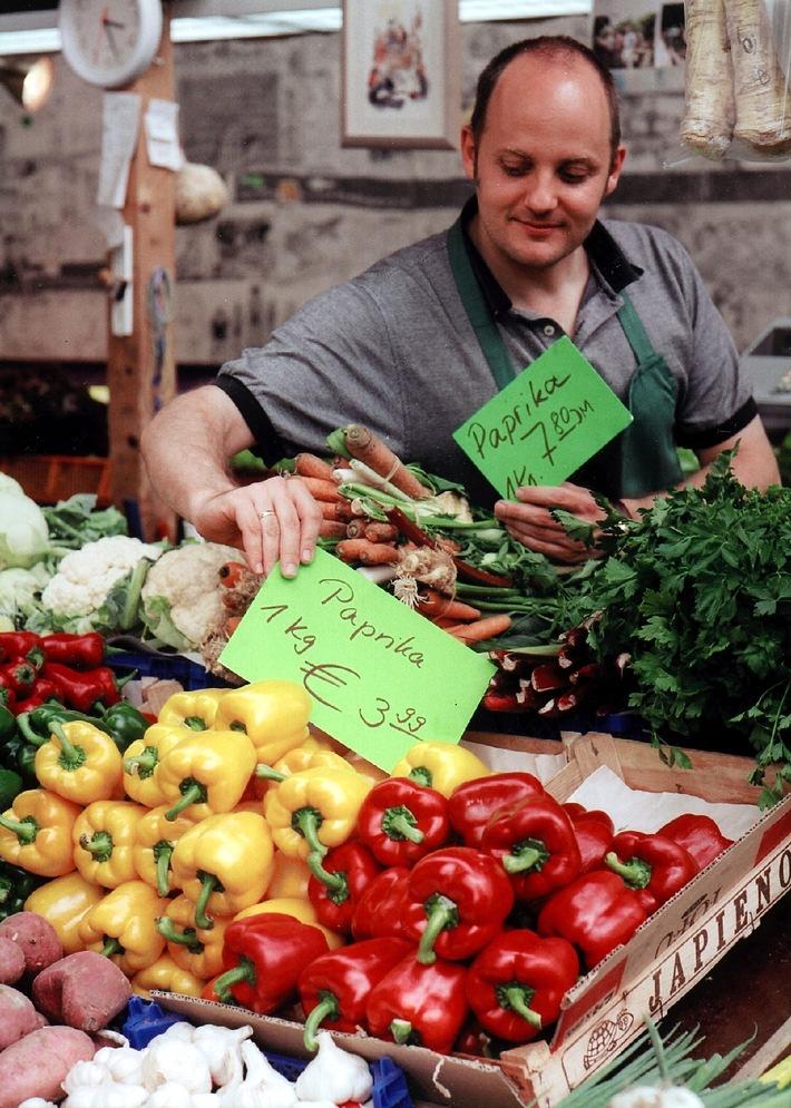 Euro-Umstellung: Doppelte Preisauszeichnung im Handel