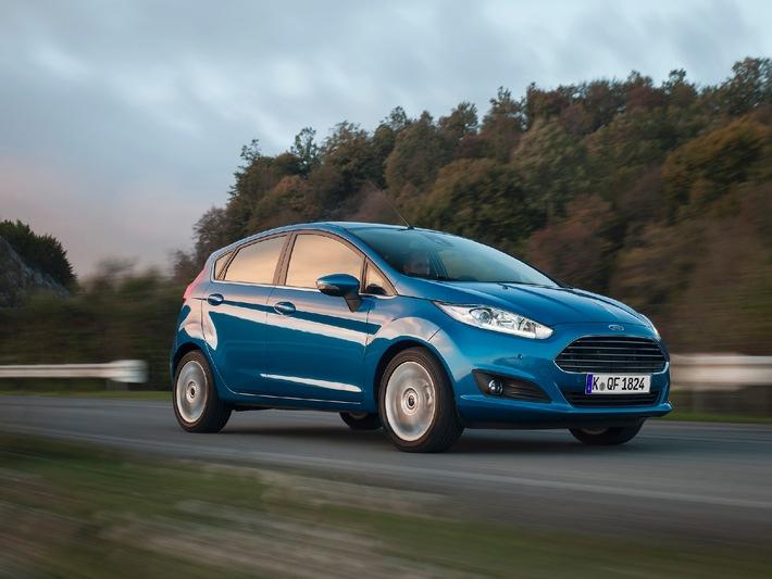Ford Auto-Versicherung für private Fiesta-Neuwagenkunden: Jetzt 19,90 Euro monatlich in den ersten drei Jahren