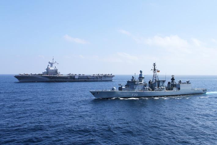 """Kampf gegen den Terror - """"Wir sind vorbereitet"""" - Fregatte """"Augsburg"""" geht erneut in den Einsatz"""