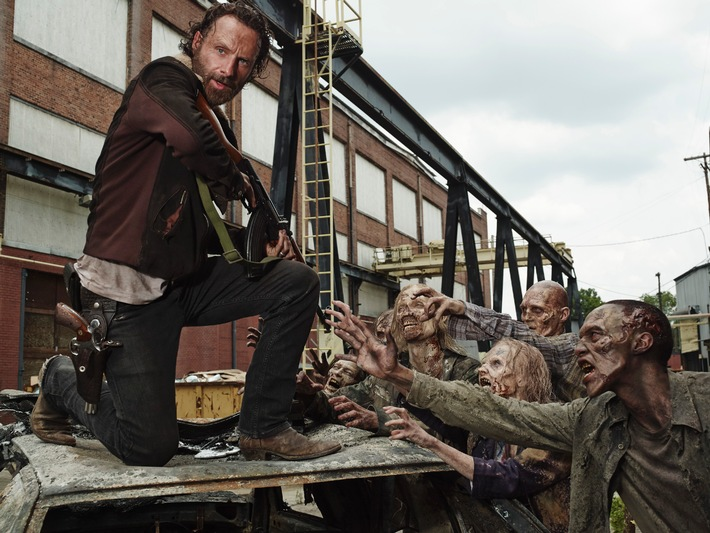 """The Walking Dead"" geht in die internationale Winterpause: Globale Premiere von Staffel 5B ab 9. Februar 2015"