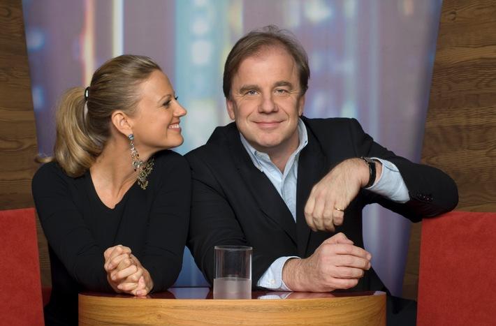 NDR TALK SHOW - Gelungener Start für Barbara Schöneberger und Hubertus Meyer-Burckhard